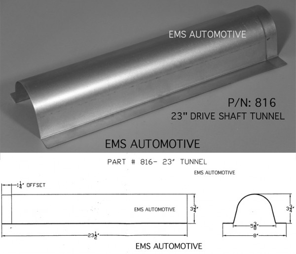 EMS 808 Contact us for Measurements Universal Transmission Cover